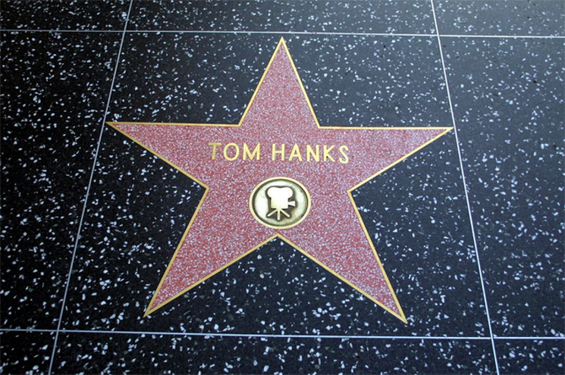 Именная звезда актера на голливудской Аллее славы