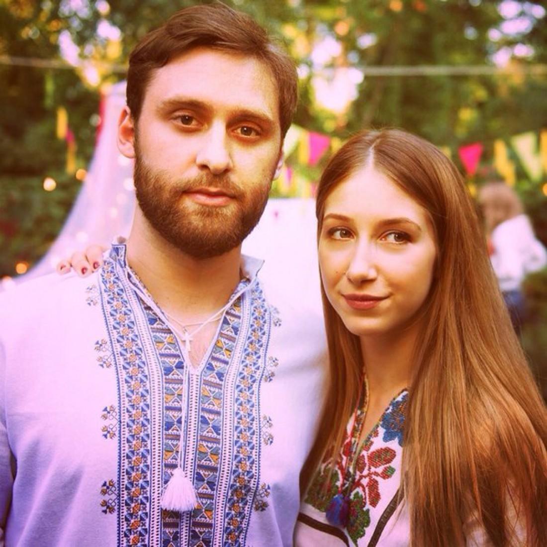Дочь Снежаны Егоровой Стася с мужем Ярославом