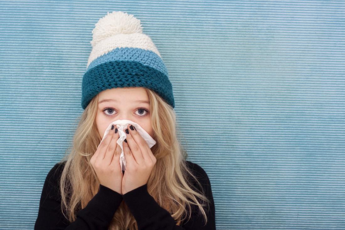 В Киеве снизилась заболеваемость гриппом среди детей