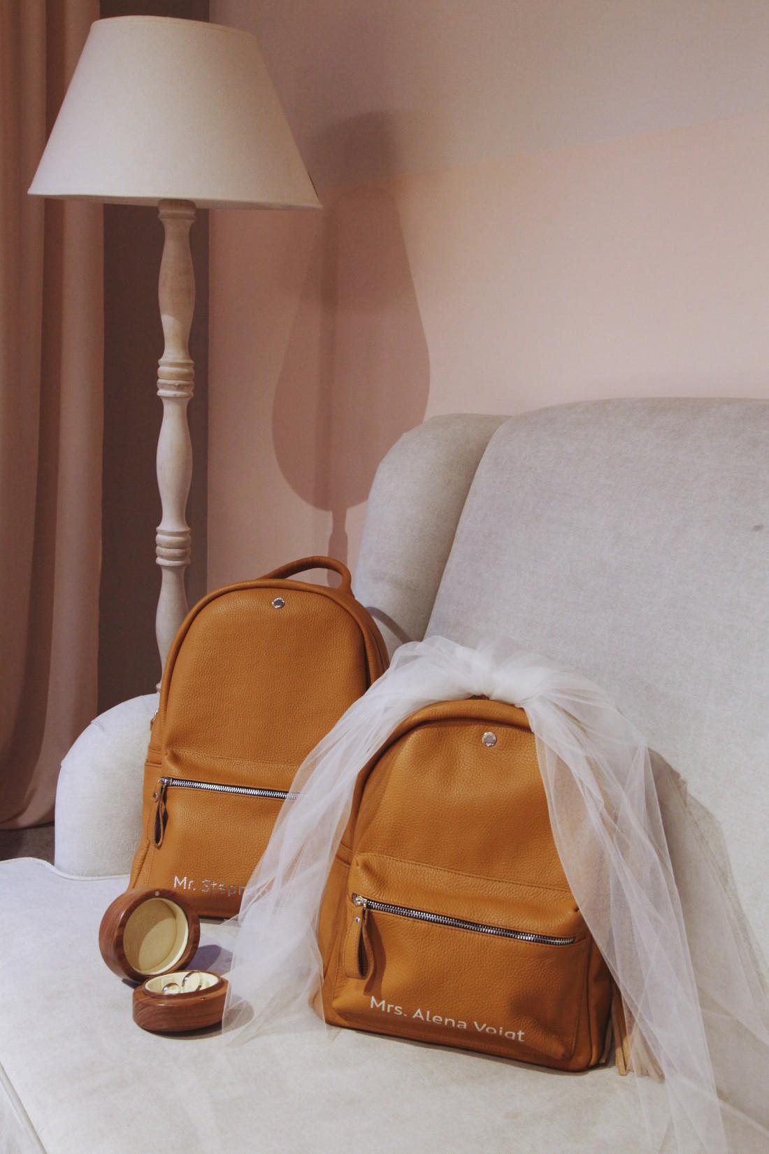 Свадебные рюкзаки