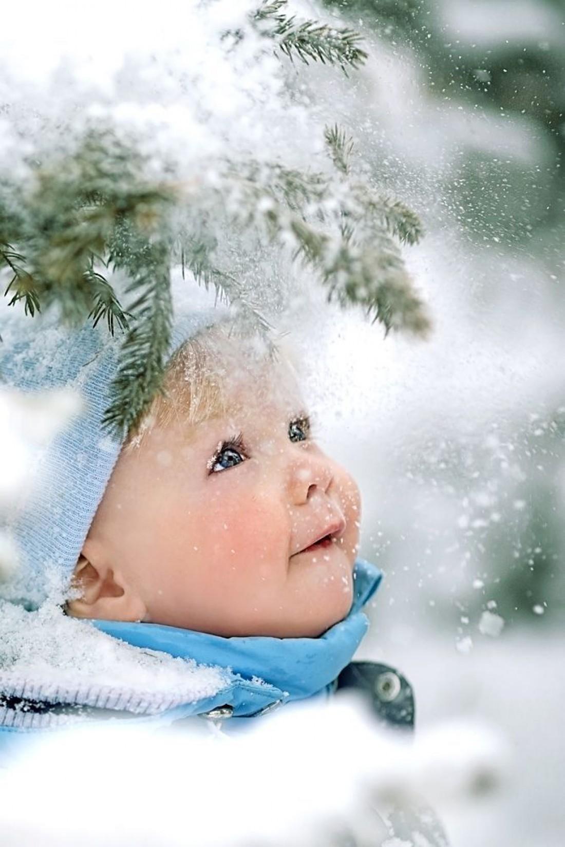 Во что одеть ребенка зимой