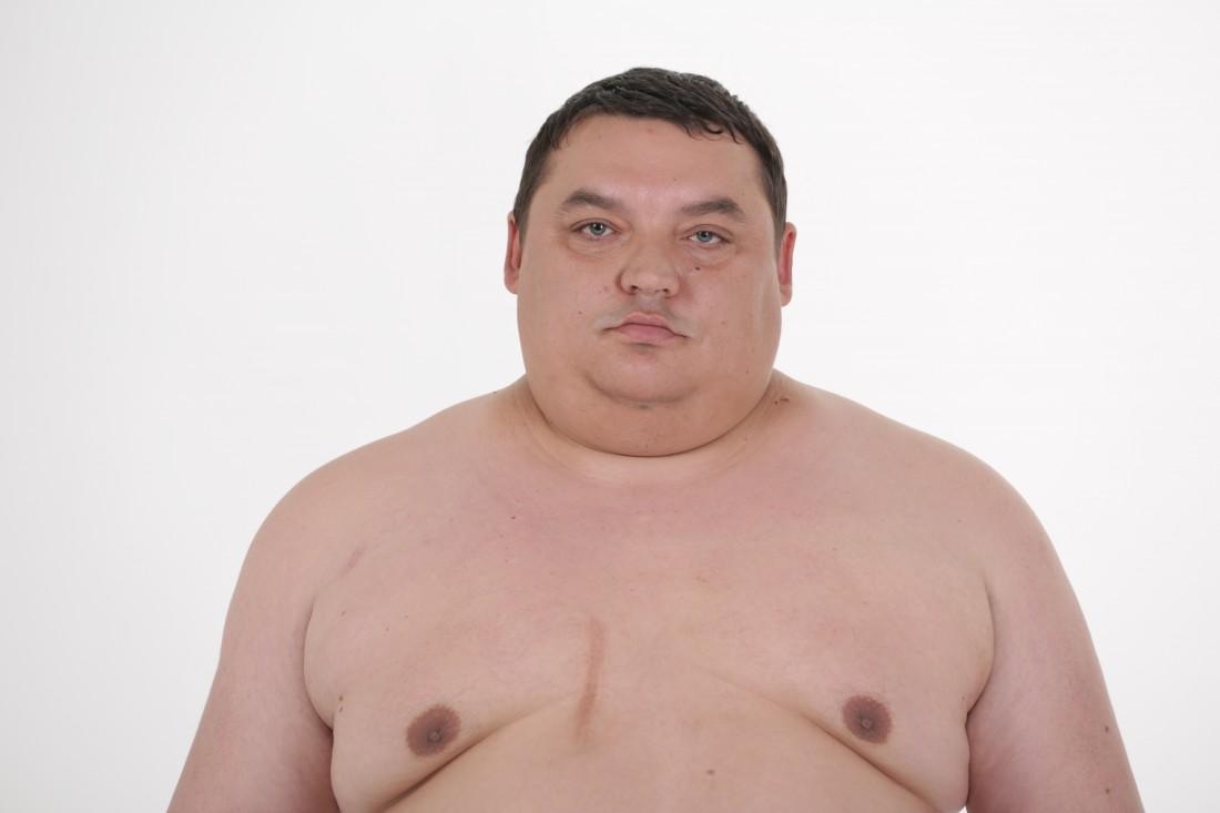 Александр Репьянчук в начале шоу Зважені та щасливі 5