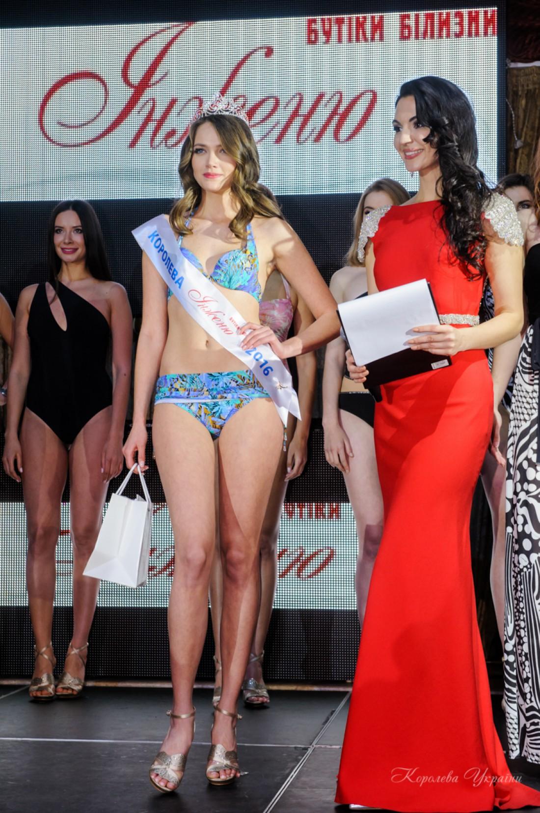 Вероника Михайлишин стала Королевой бикини 2016
