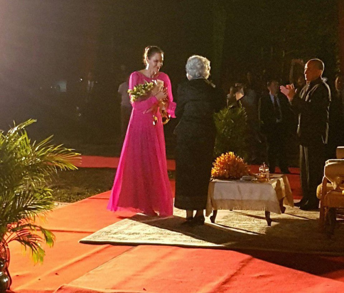 Анджелина Джоли на презентации фильма First They Killed My Father