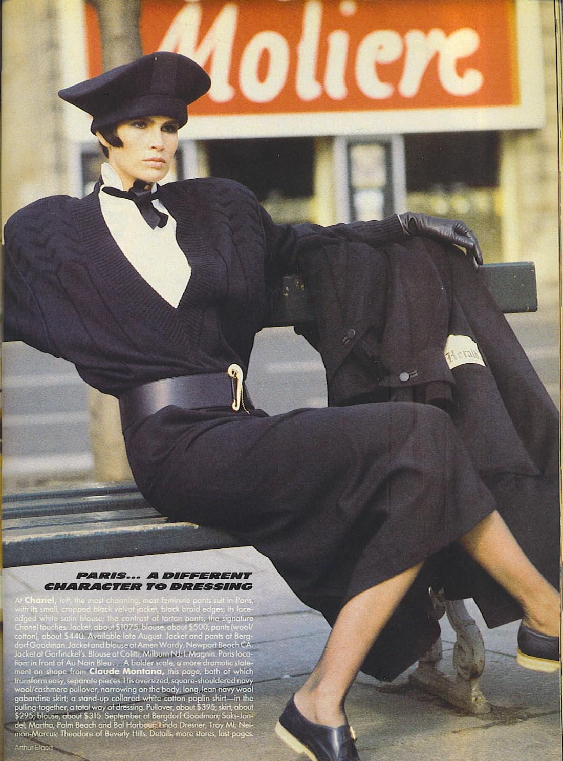 Деловая мода 80-х