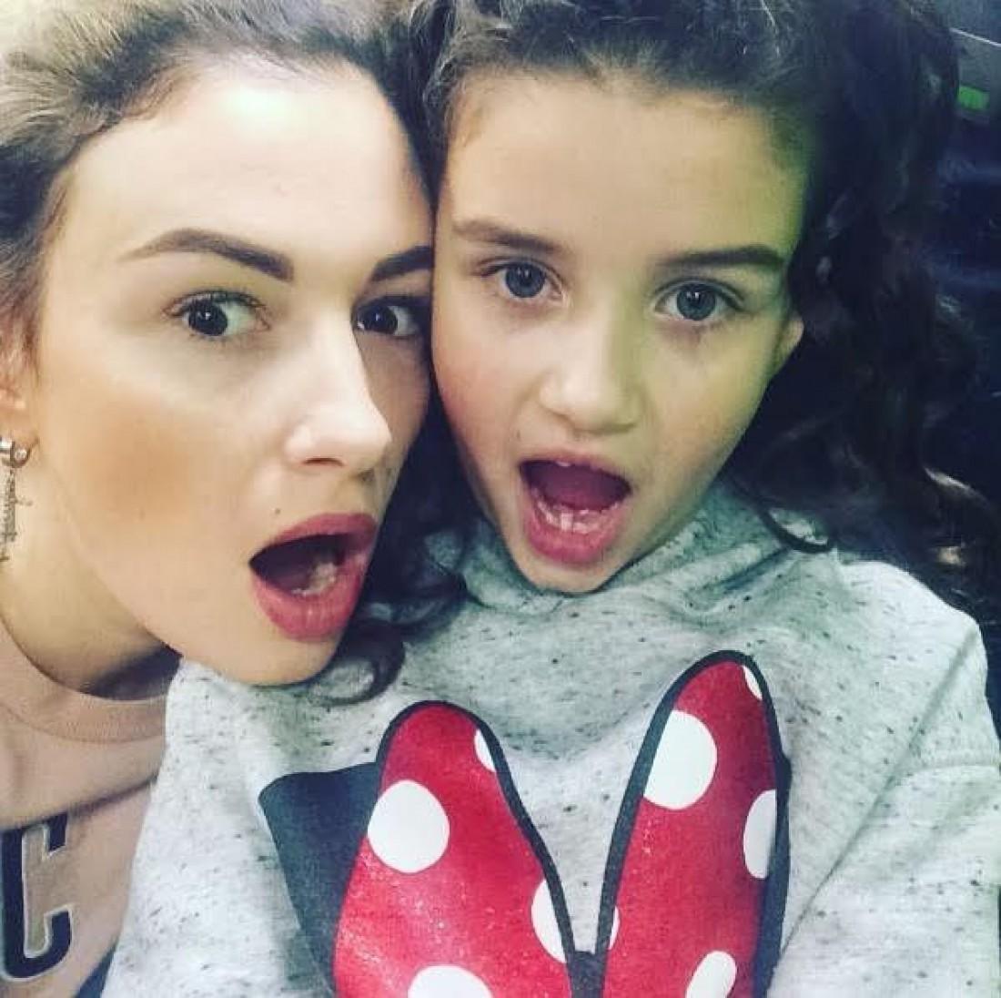 Анастасия Приходько с дочкой Нанной