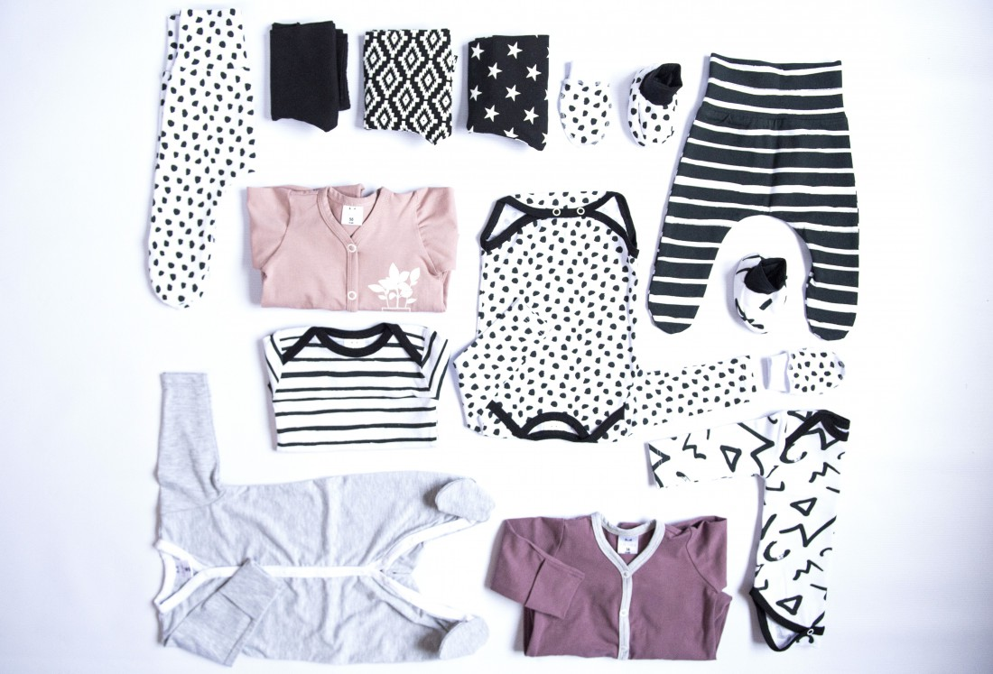 Базовый гардероб младенца