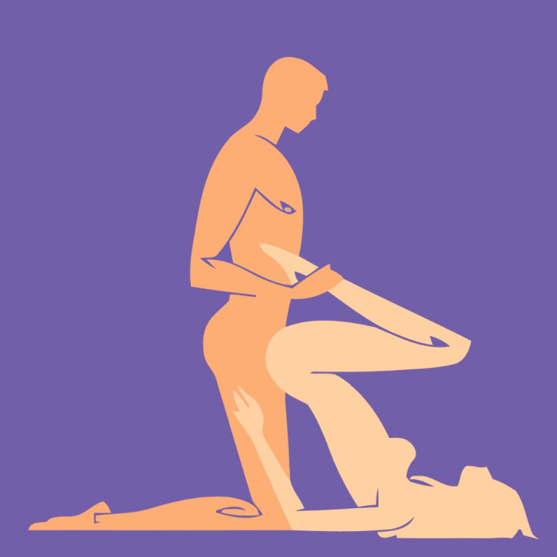 Секс с позой точка g