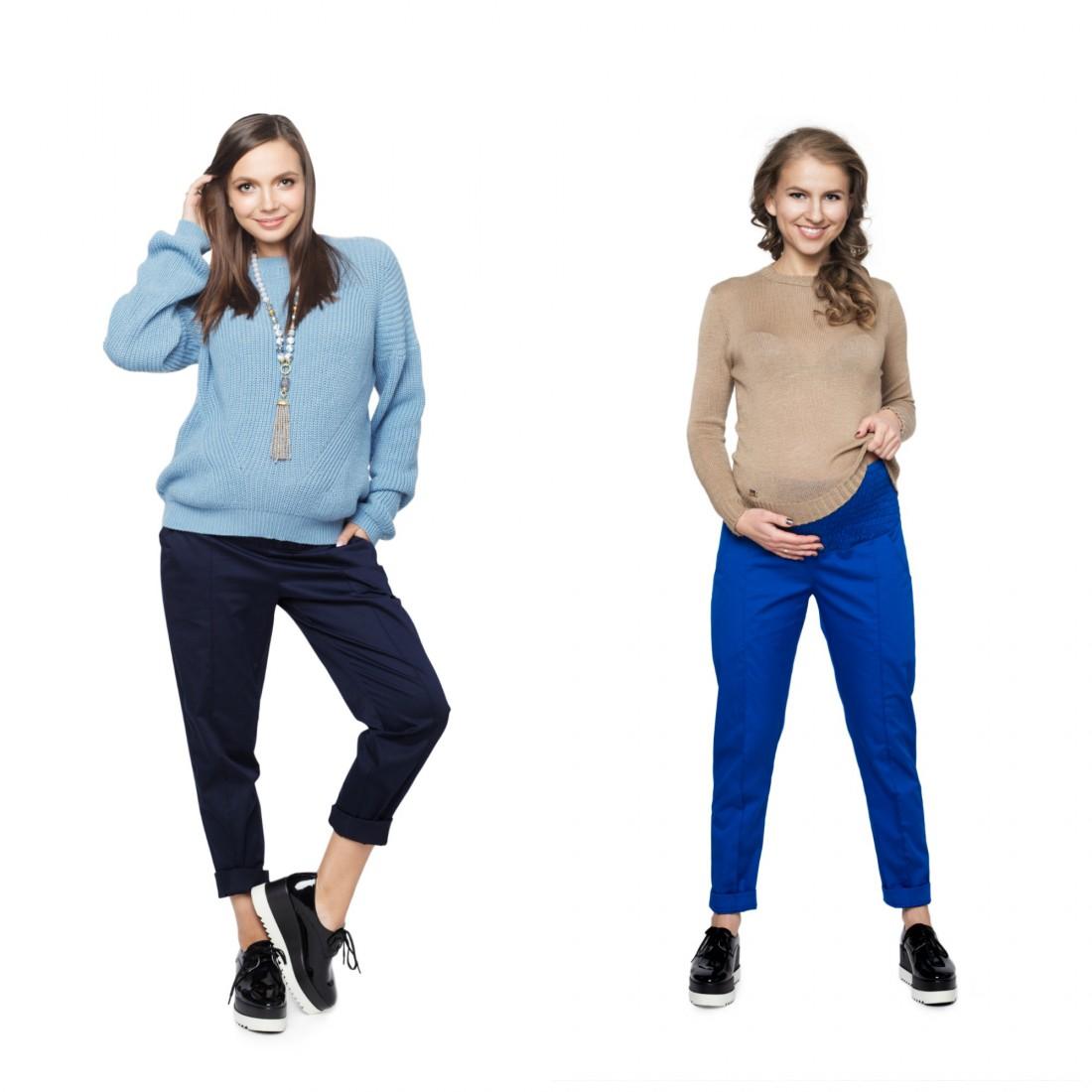 Базовый гардероб для беременной: брюки