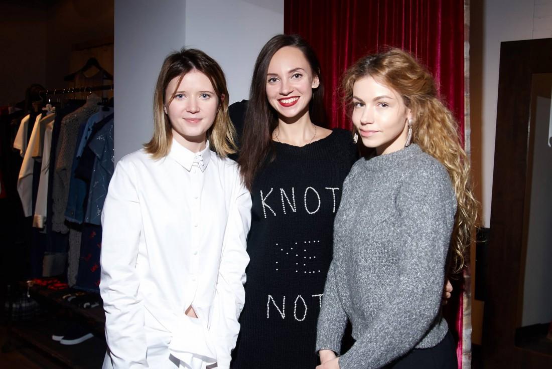 Ольга Биленчук, Яна Вуева и Люба Макаренко
