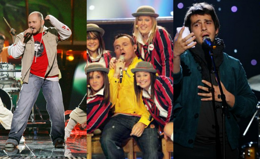 Евровидение: провальные выступления участников