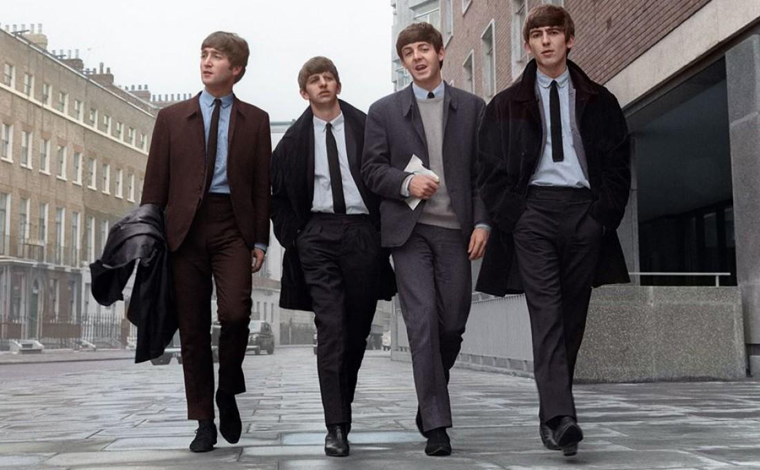 Группа The Beatles: Слева направо – Джон Леннон, Ринго Старр, Пол Маккартни, Джордж Харрисон
