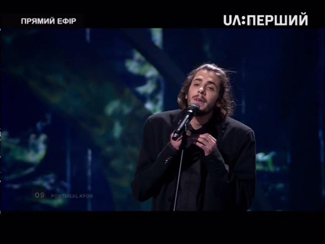 Евровидение 2017: представитель Португалии Салвадор Собрал