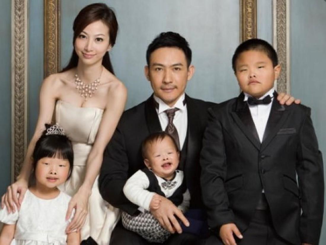 Модель Хайди Е и ее семья