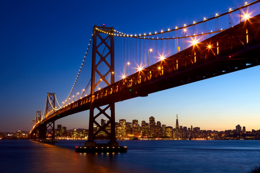 Залив Сан-Франциско. Калифорния, США