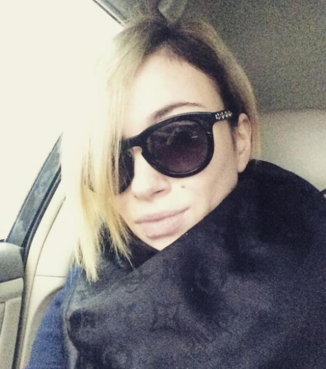Анастасия Приходько с новой прической