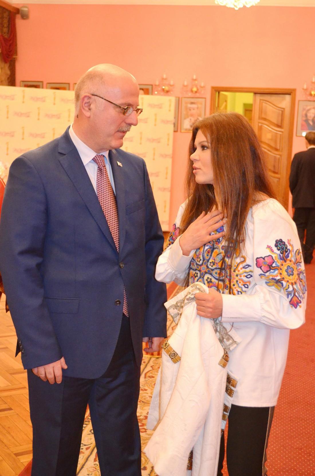 Григол Катамадзе и Руслана
