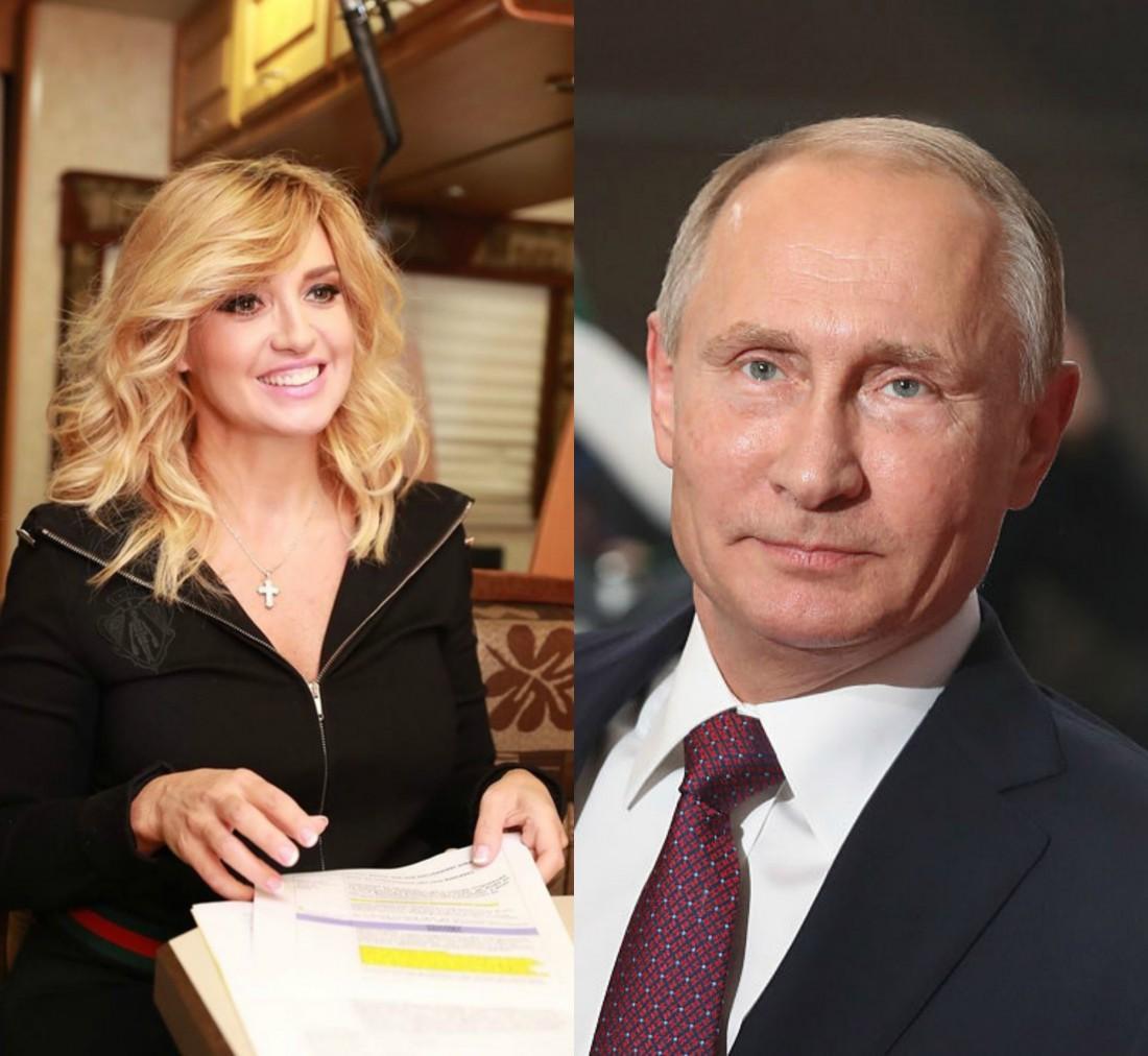 Оксана Марченко, Владимир Путин