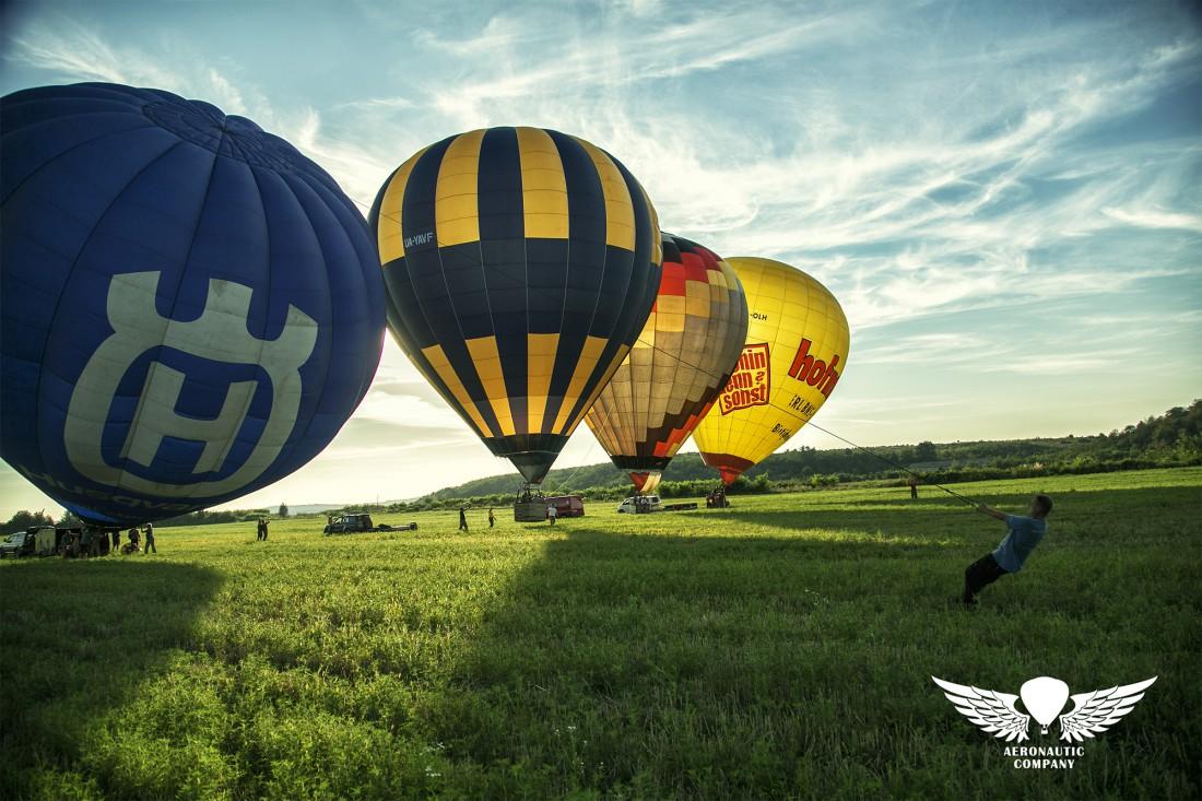 Полет на воздушном шаре в Киевской области