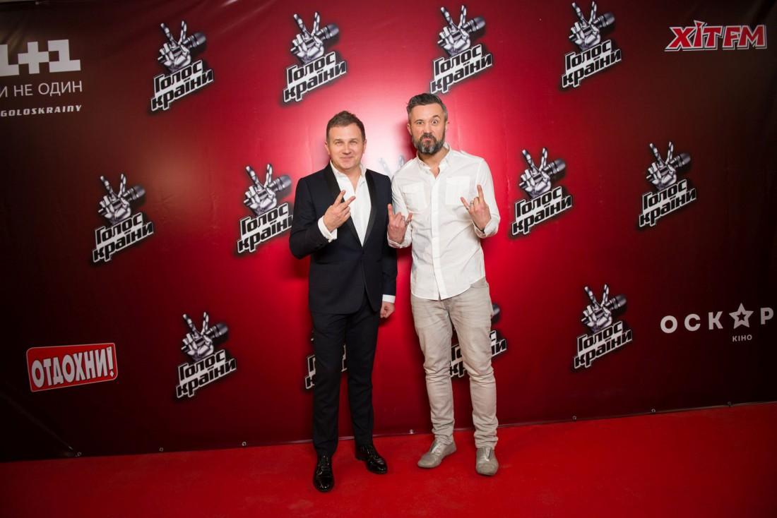 Тренер проект Сергей Бабкин и ведущий проекта Юрий Горбунов