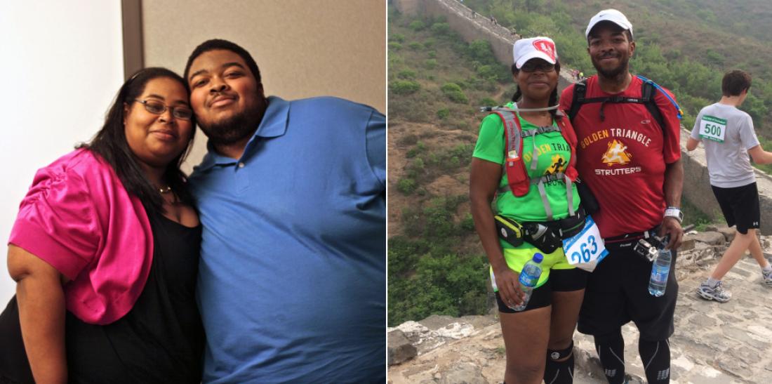 Анжела и Вилли потеряли 225 килограммов на двоих