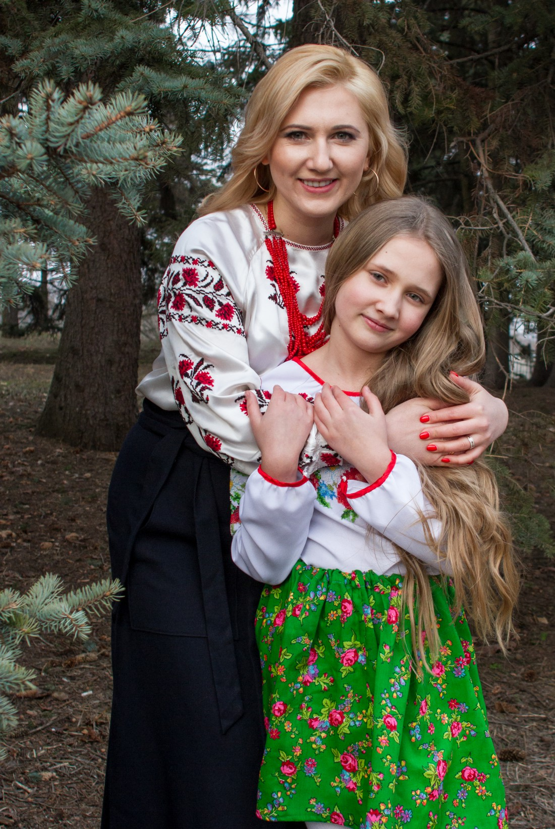 Кристина Юшкевич с дочерью