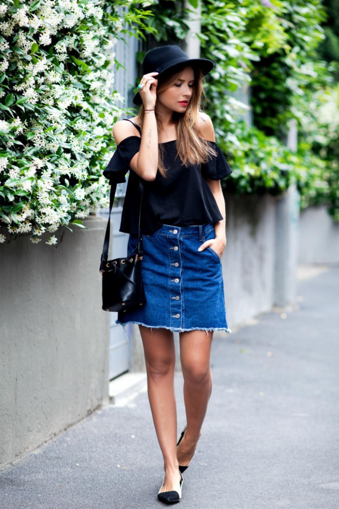 У тебя есть совсем немного времени, чтобы прикупить новую юбку из денима к лету