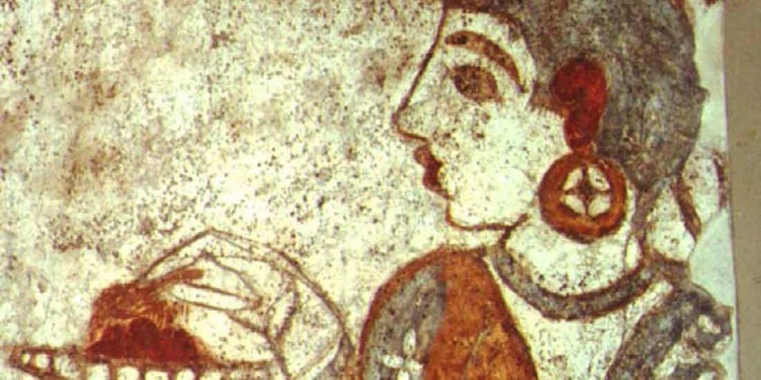 Рисунок каффа на гончарном изделии, 800 год до н. э.