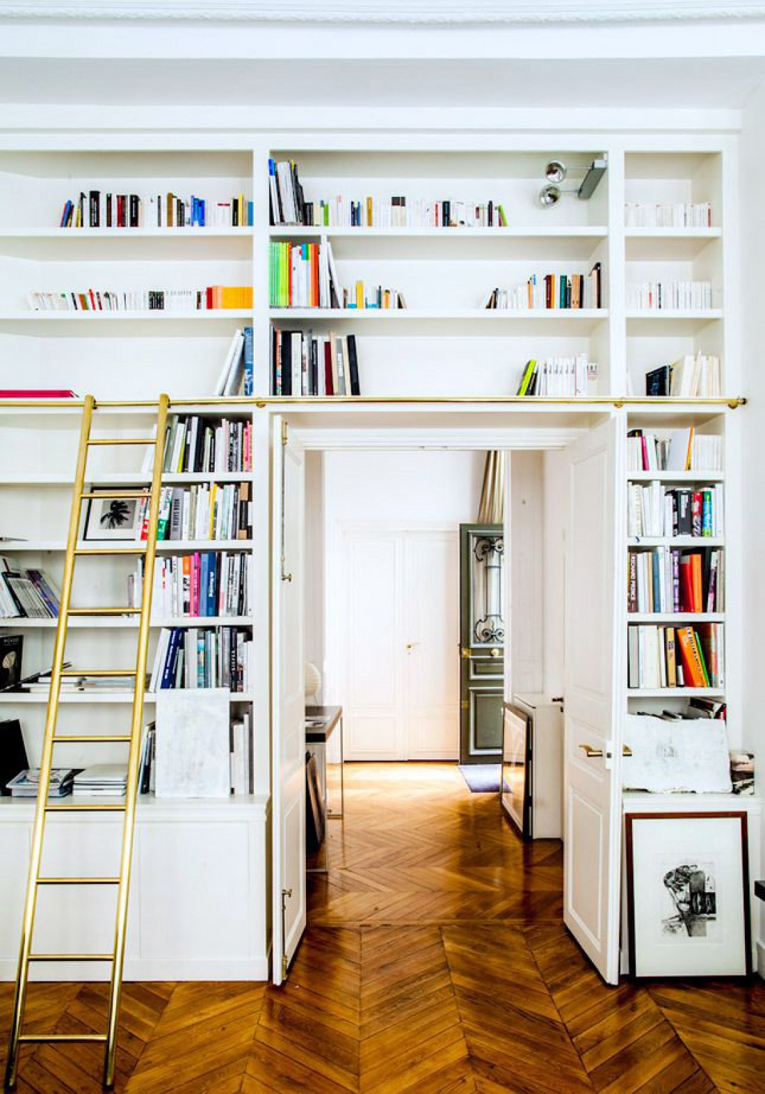 Идеи для интерьера: Домашняя библиотека