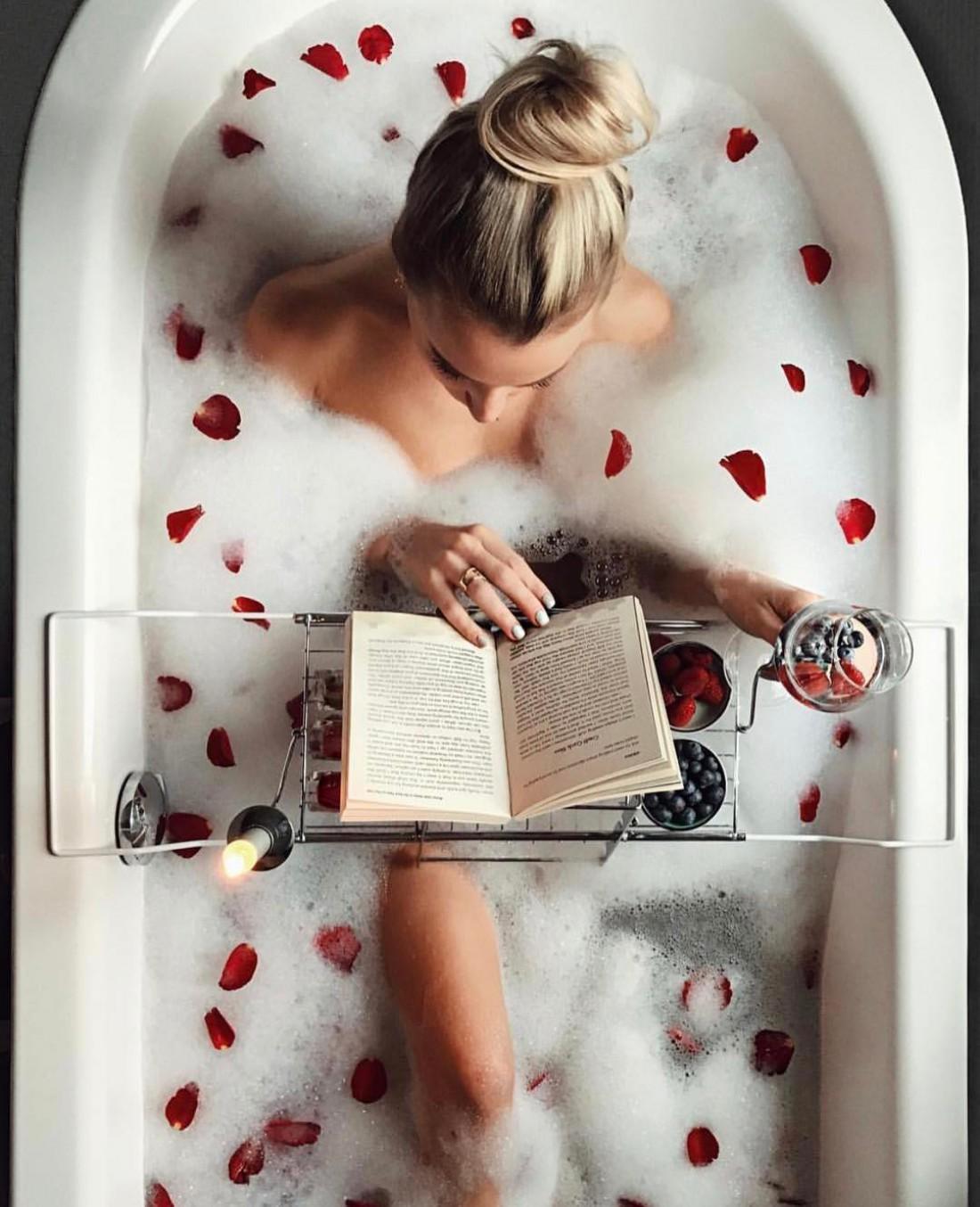 Теплая ванна поможет избавиться от стресса
