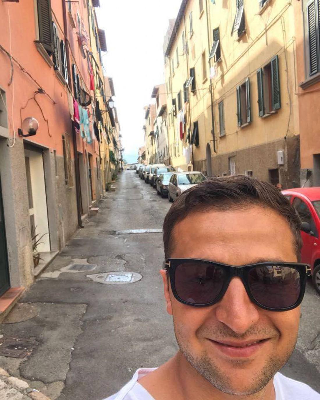 Владимир Зеленский в Италии