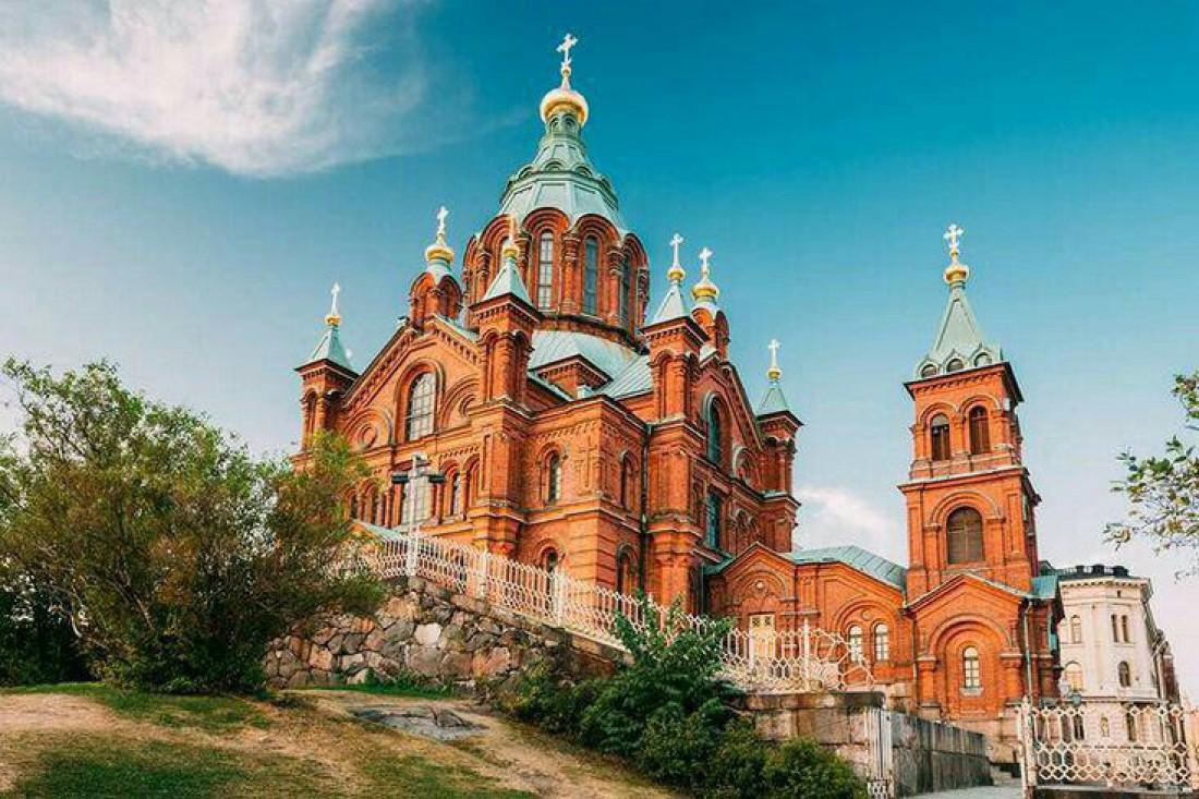 Успенский собор в городе Хельсинки