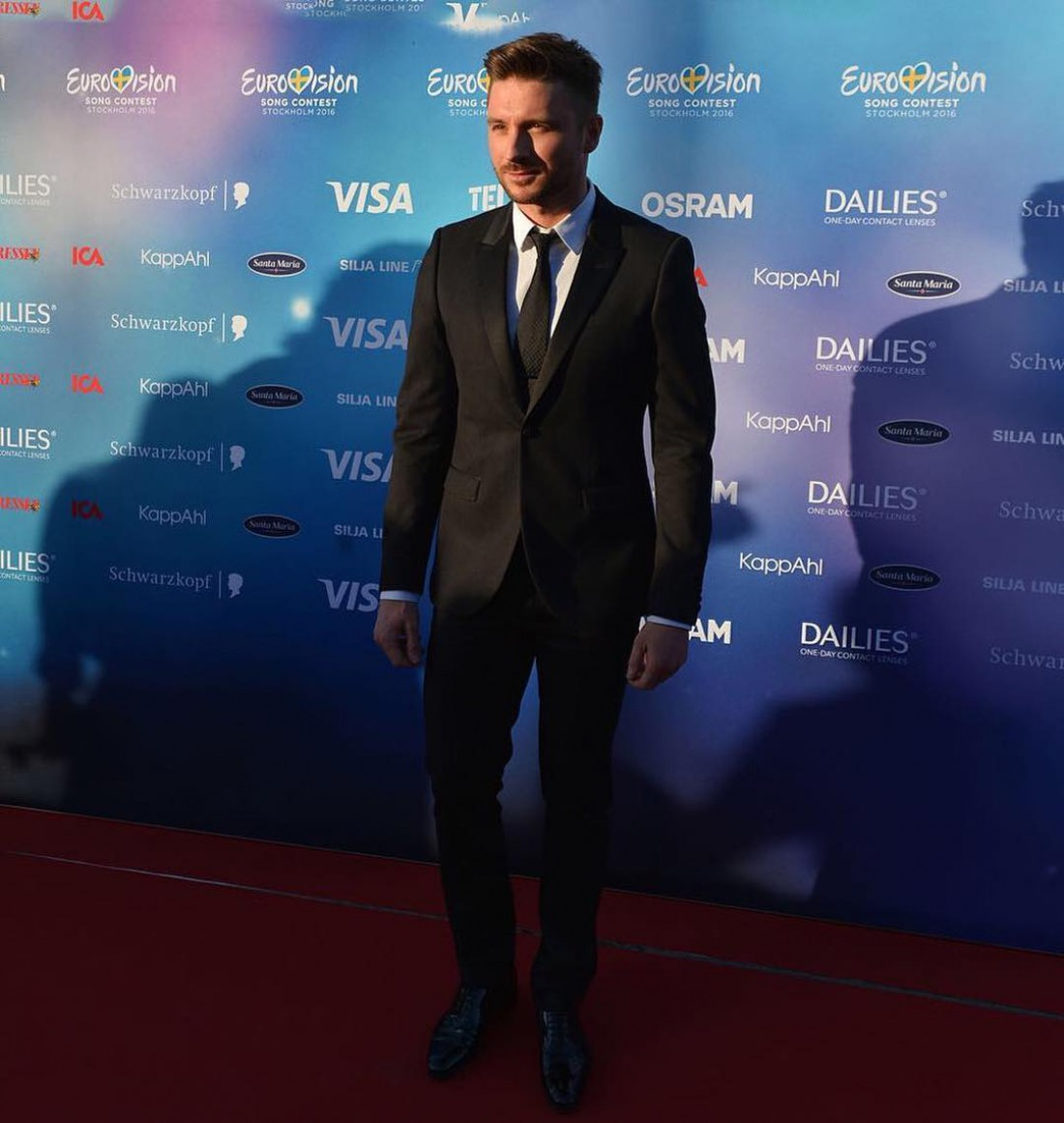 Евровидение 2016 Сергей Лазарев