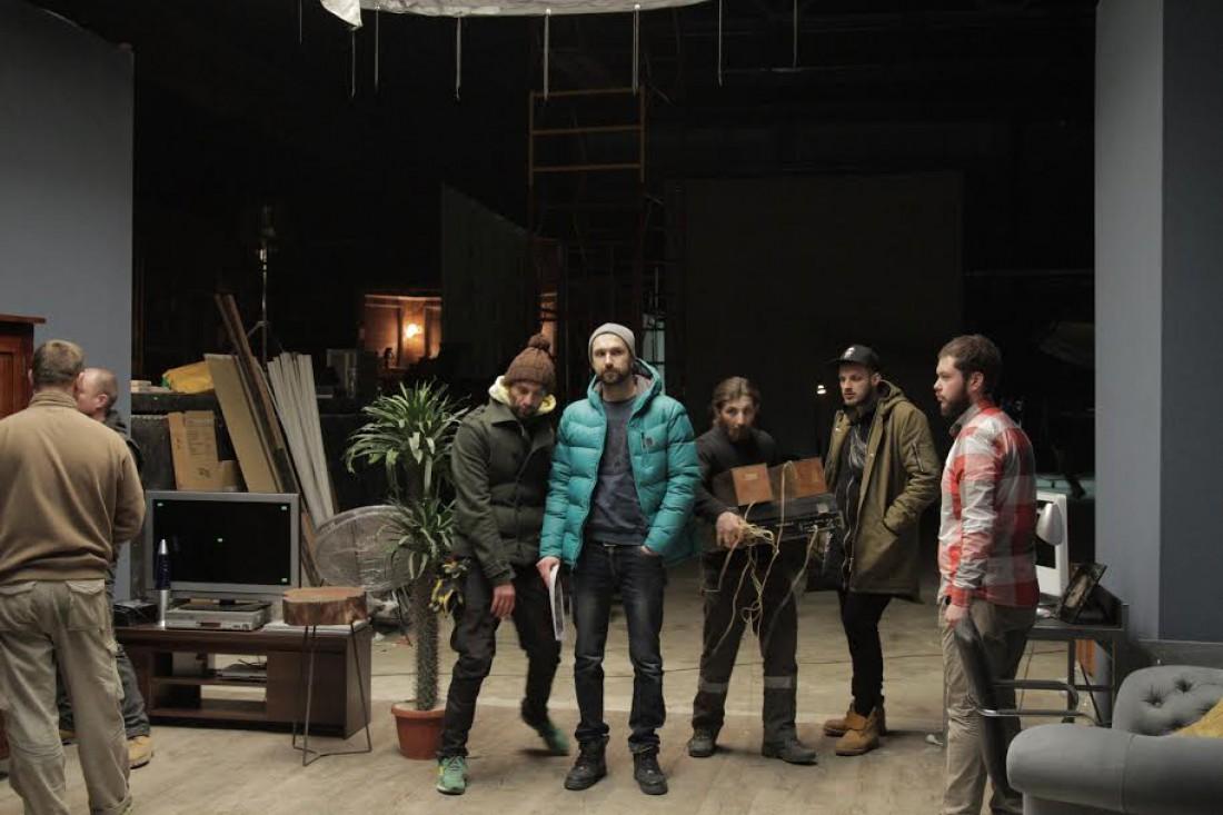 Съемки нового клипа Леонида Колосовского для группы Градусы