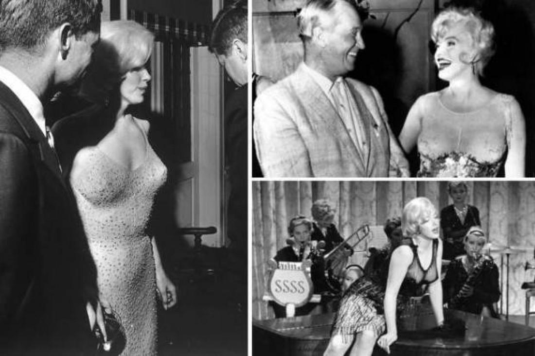 Секс-символ 60-х Мэрилин Монро в Белом доме (1962)
