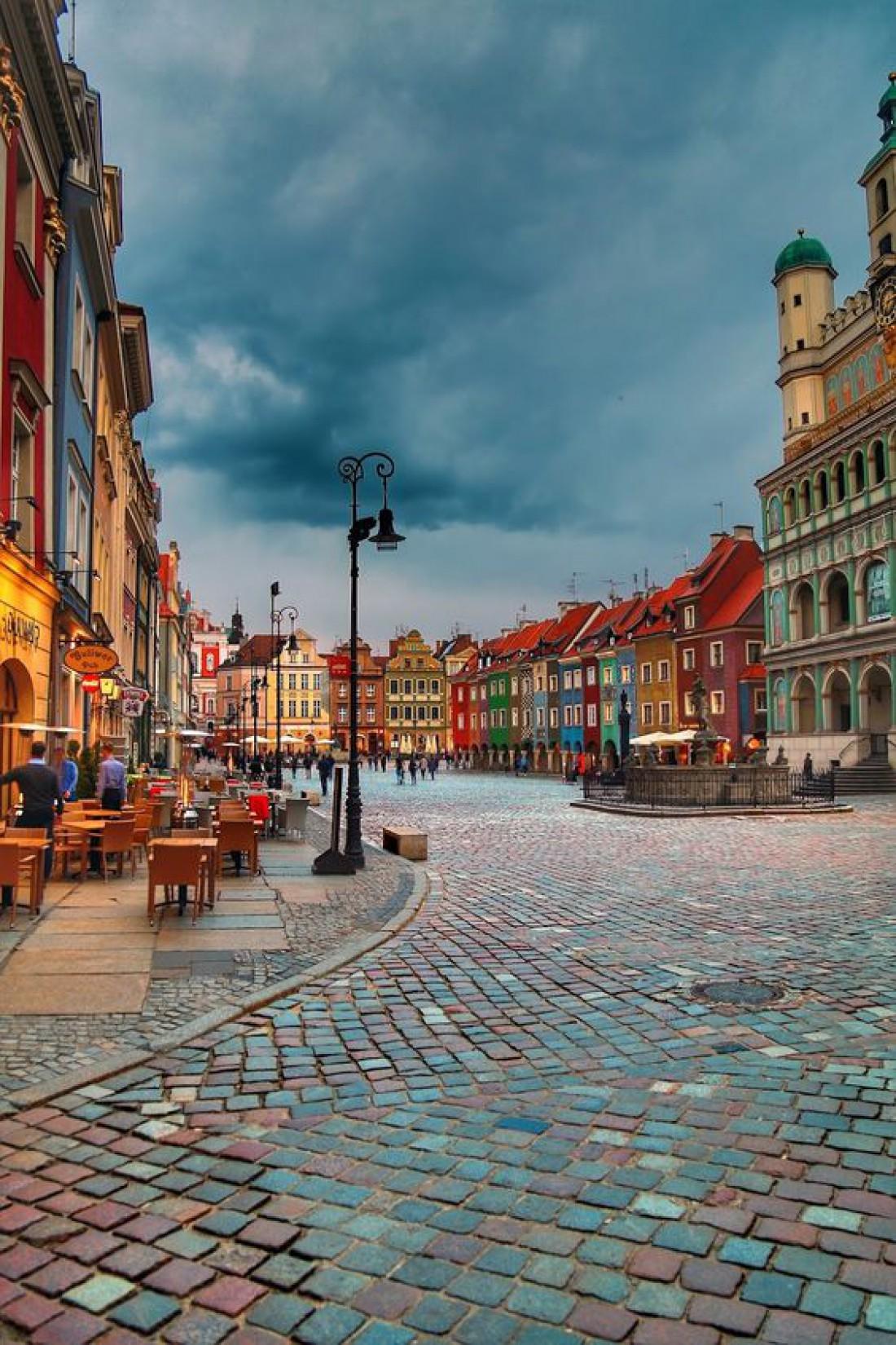 Познань - один из самых старых городов Польши