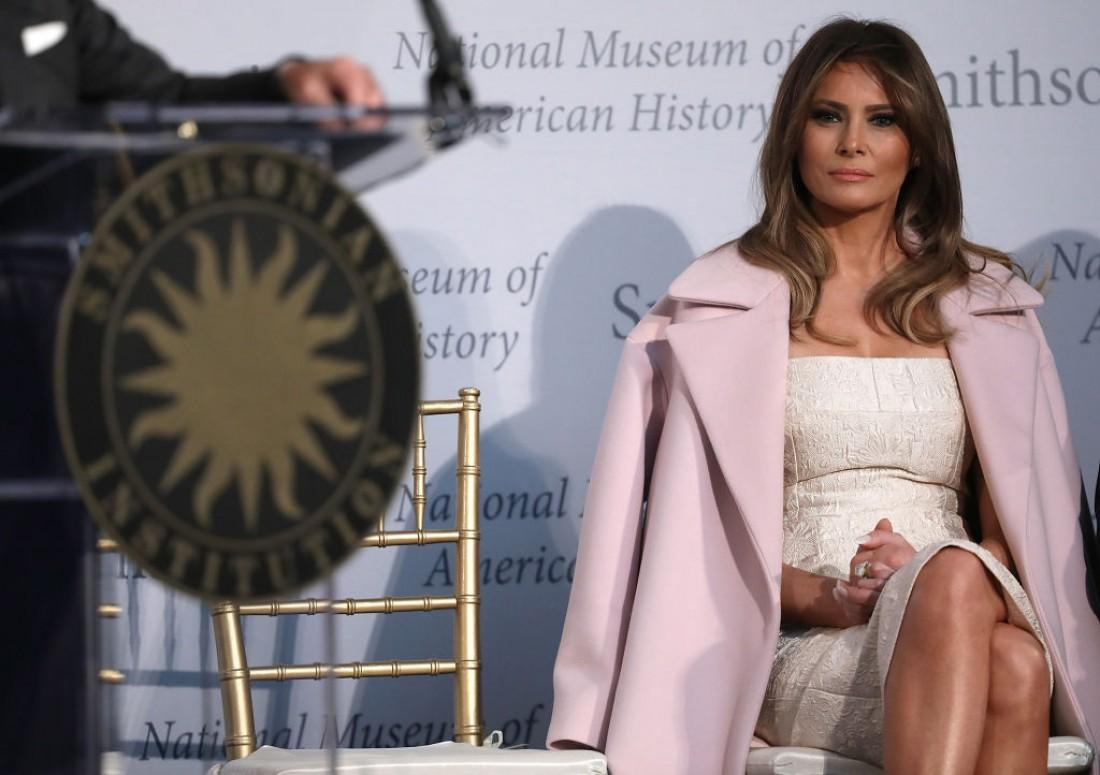 Меланья в Национальном музее американской истории