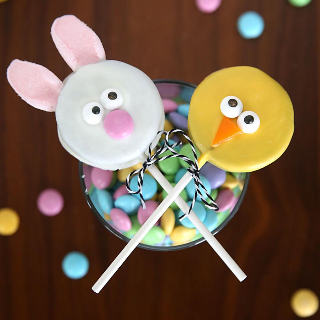 Пасхальные кейк-попсы