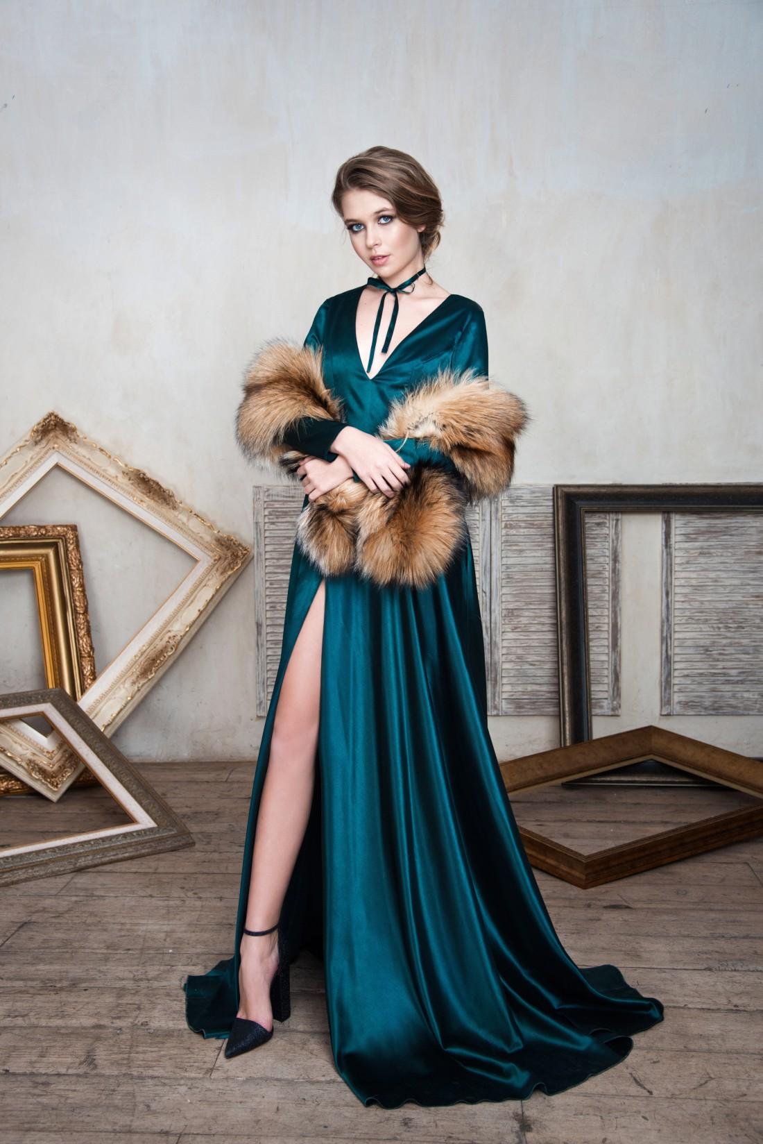 Дочь Веры Брежневой в лукбуке российского дизайнера