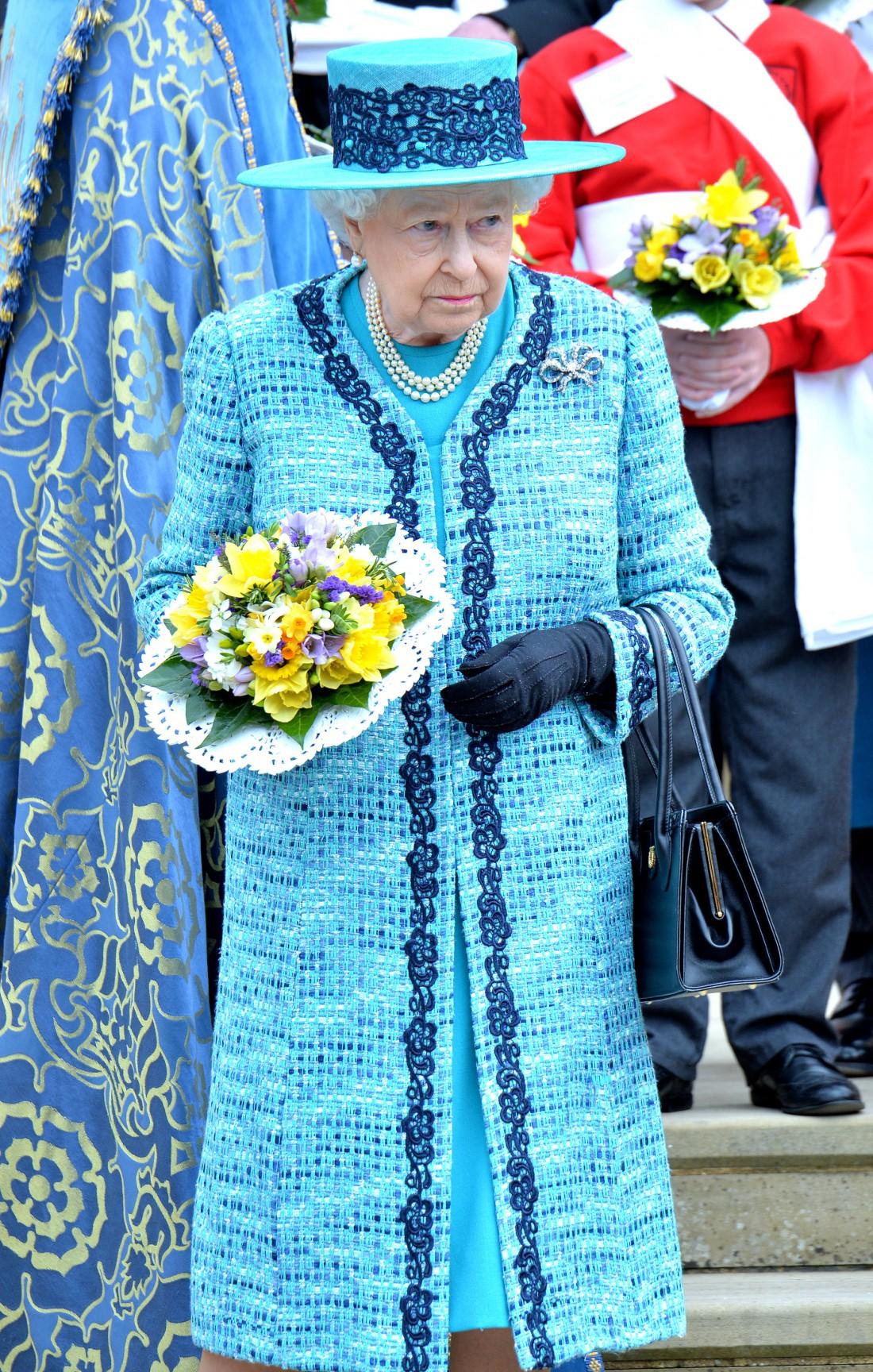 Елизавета II в 2016 году