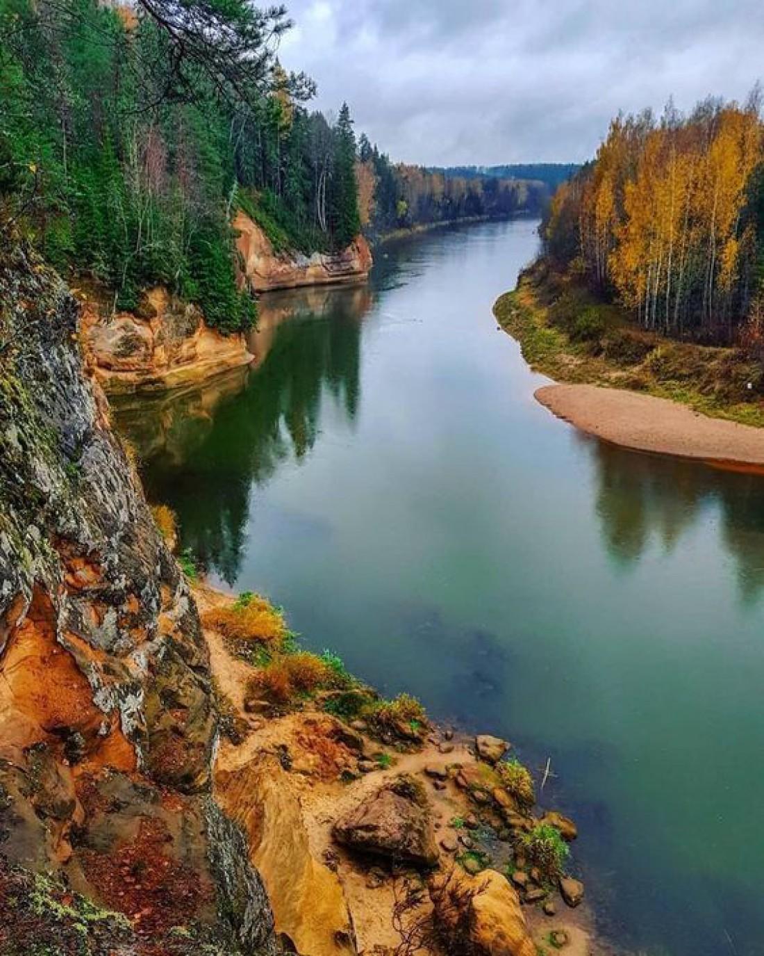 Национальный парк Гауя - крупнейший парк Латвии