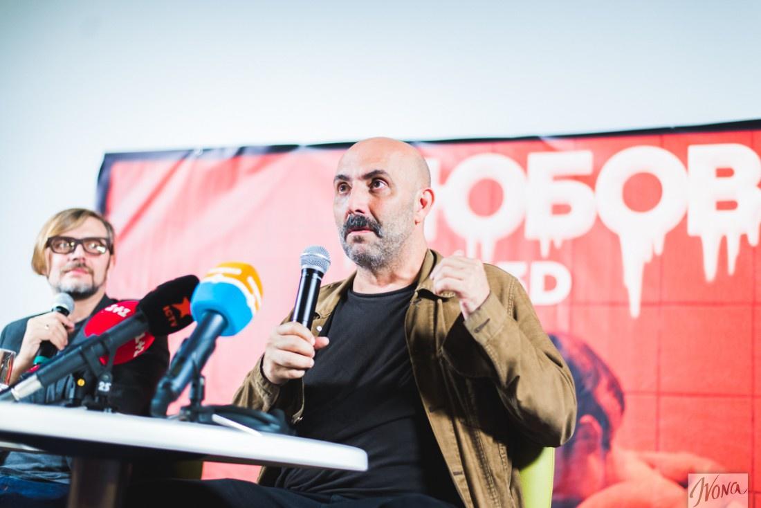 Пресс-конференция с режиссером фильма Любовь