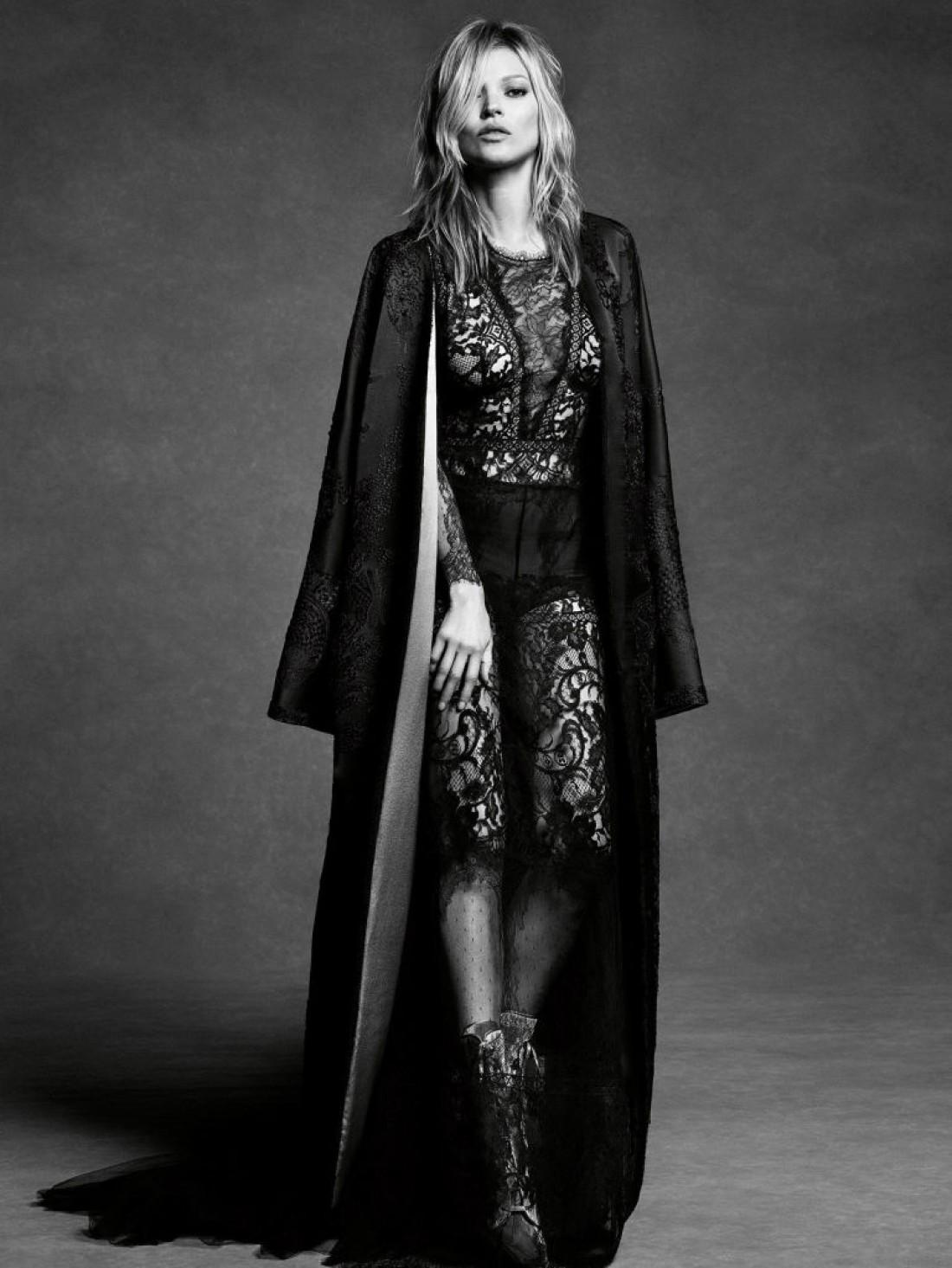 Кейт Мосс в новой рекламной кампании