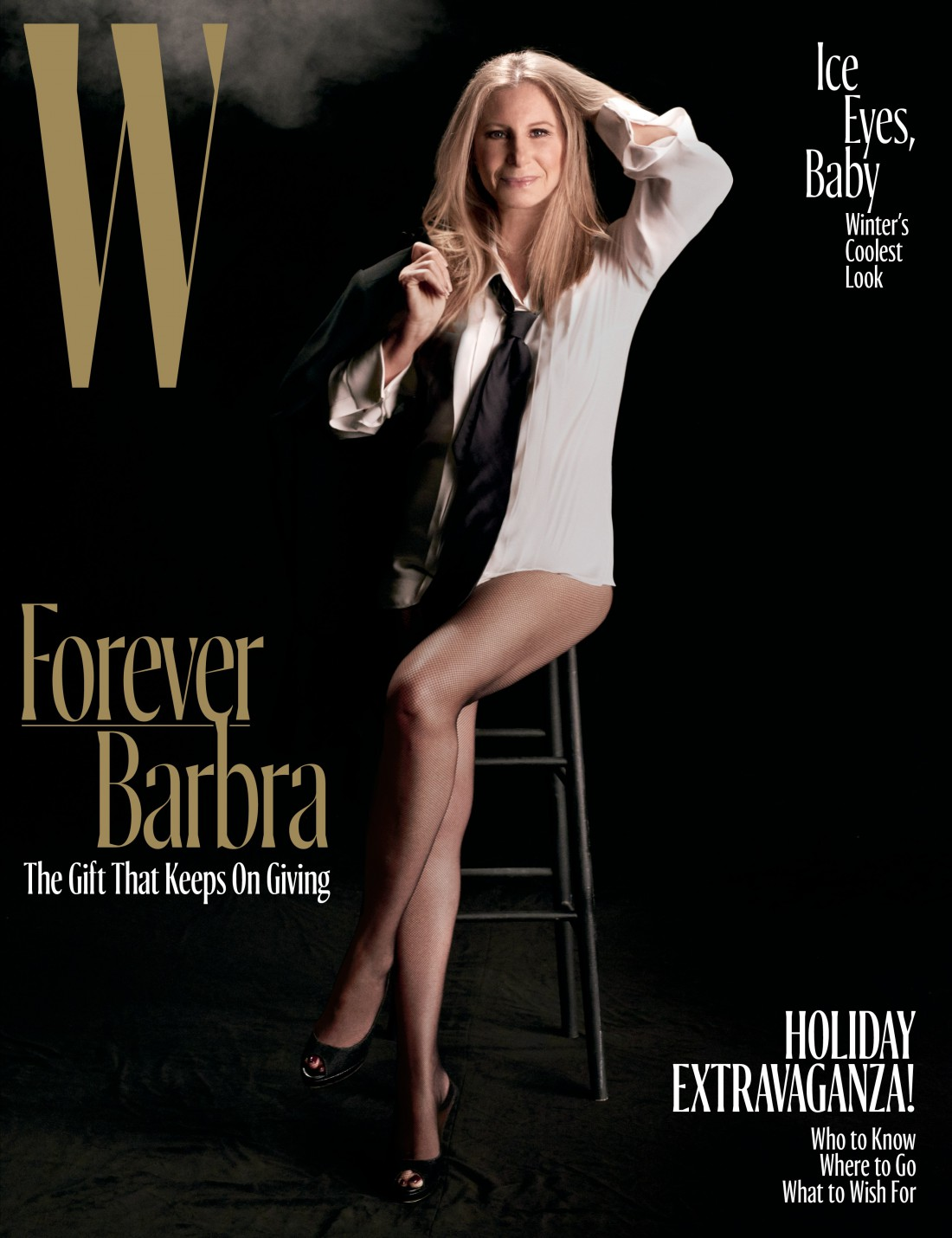 Актриса и певица Барбара Стрейзанд для W magazine