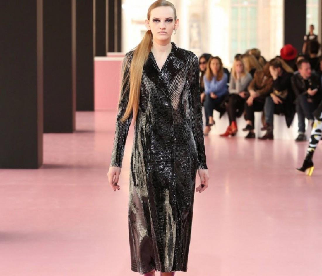 Платье-плащот Christian Dior