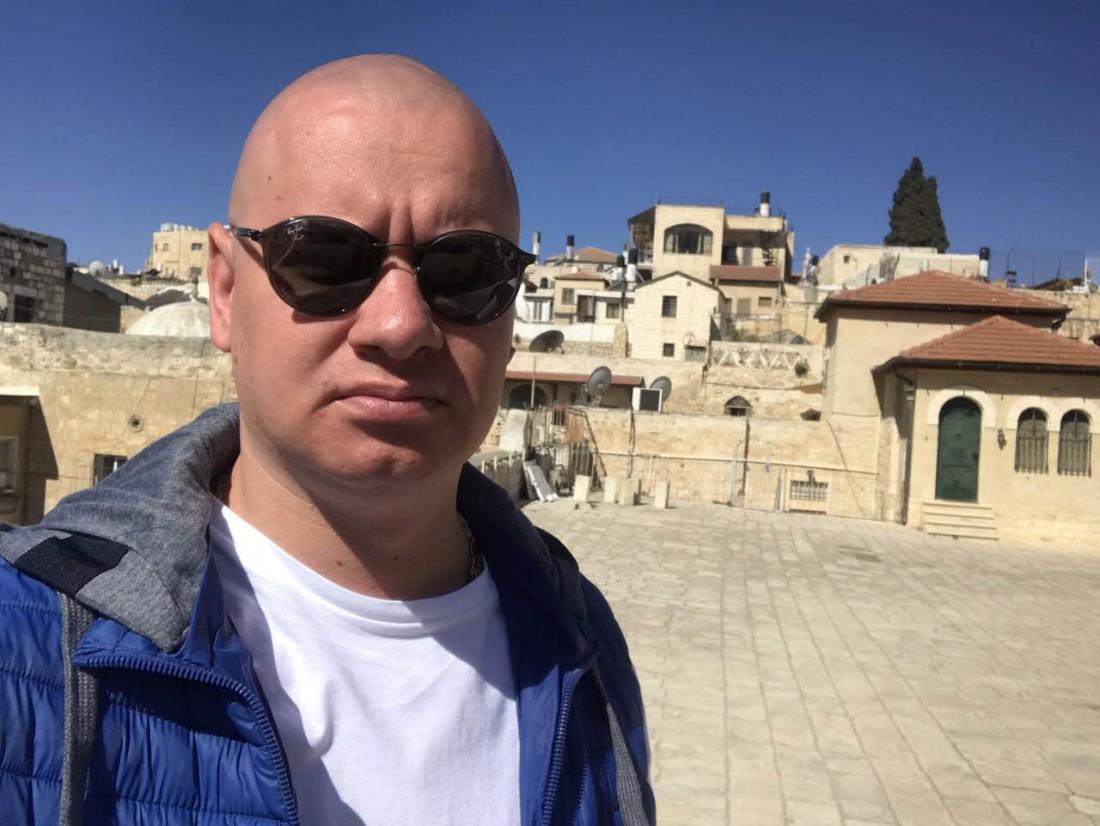 Евгений Кошевой в Израиле