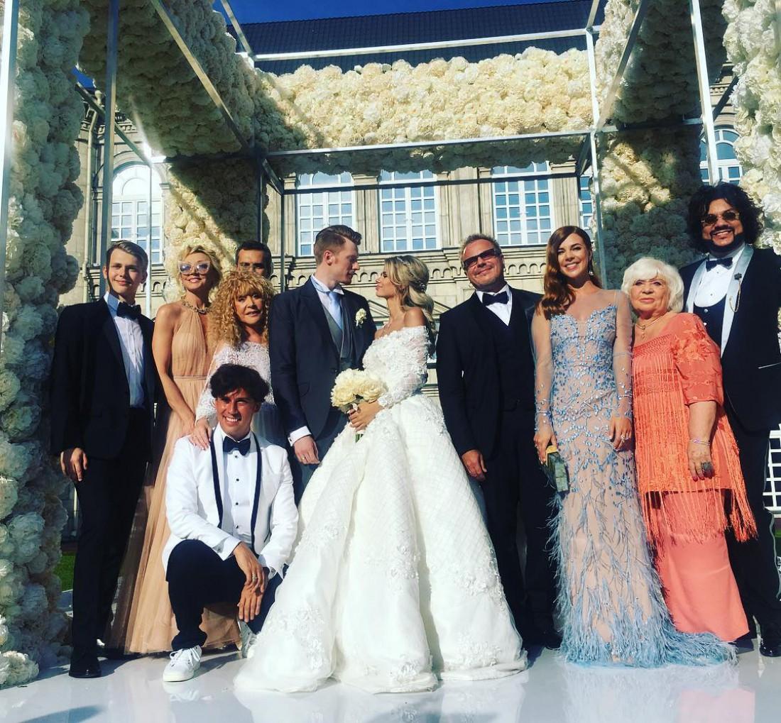 Торт свадьба преснякова младшего гости фото