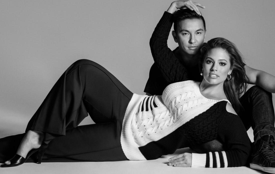 Эшли Грэм и Прабал Гурунг в рекламной кампании