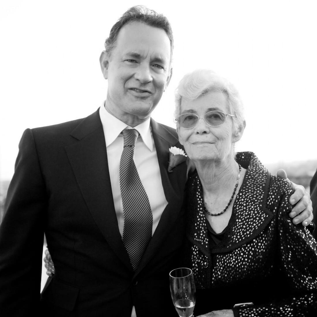Том Хэнкс с мамой