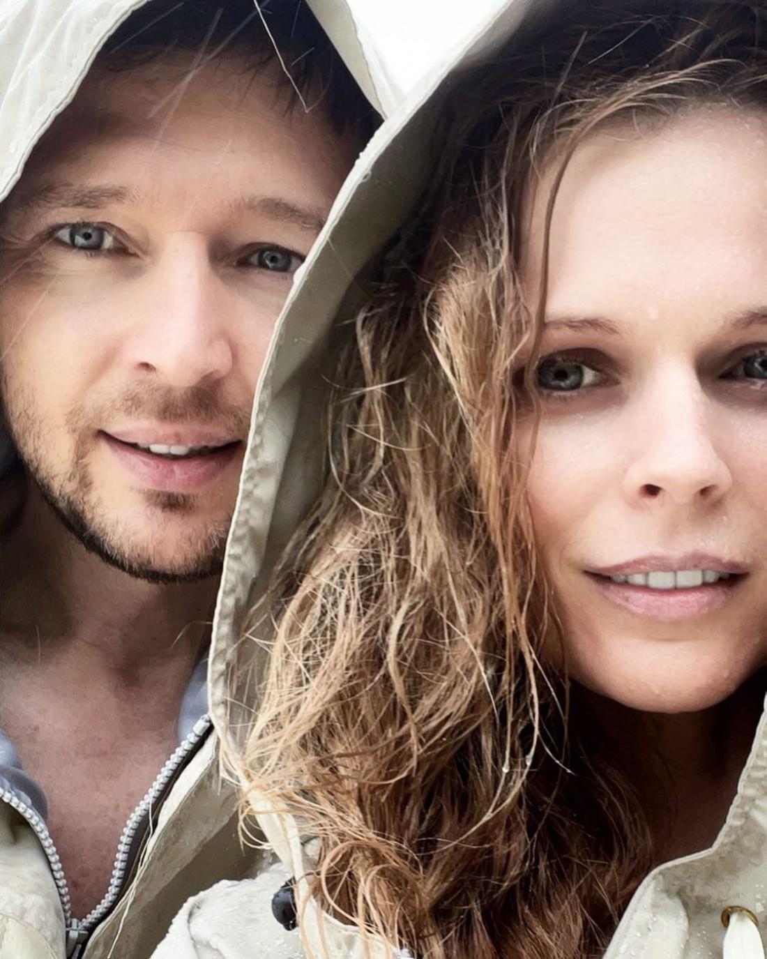 Ольга Фреймут показала новое фото с мужем Владимиром Локотко